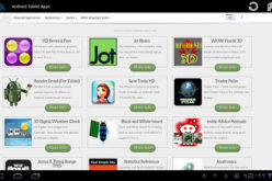 Android Tablet Apps, il market ottimizzato per tablet
