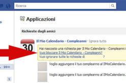 Bloccare le richieste di giochi e applicazioni su Facebook, definitivamente.