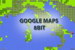 Google Maps 8 bit un pesce d'aprile firmato Google