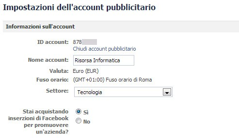 Facebook Ads Parametri