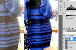 Il vero colore del vestito bianco e oro svelato da Photoshop | #thedress