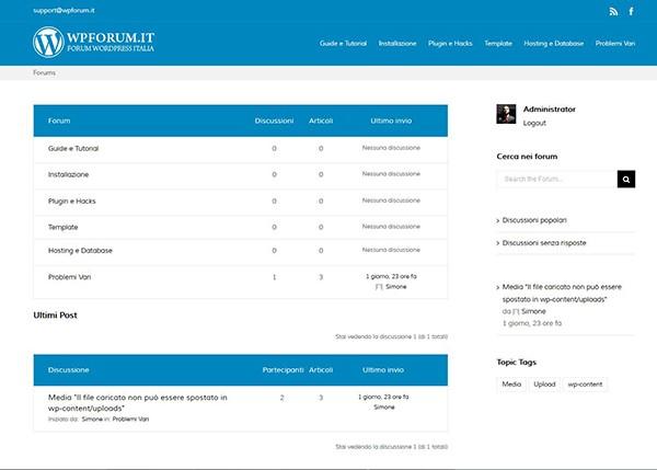Forum WordPress