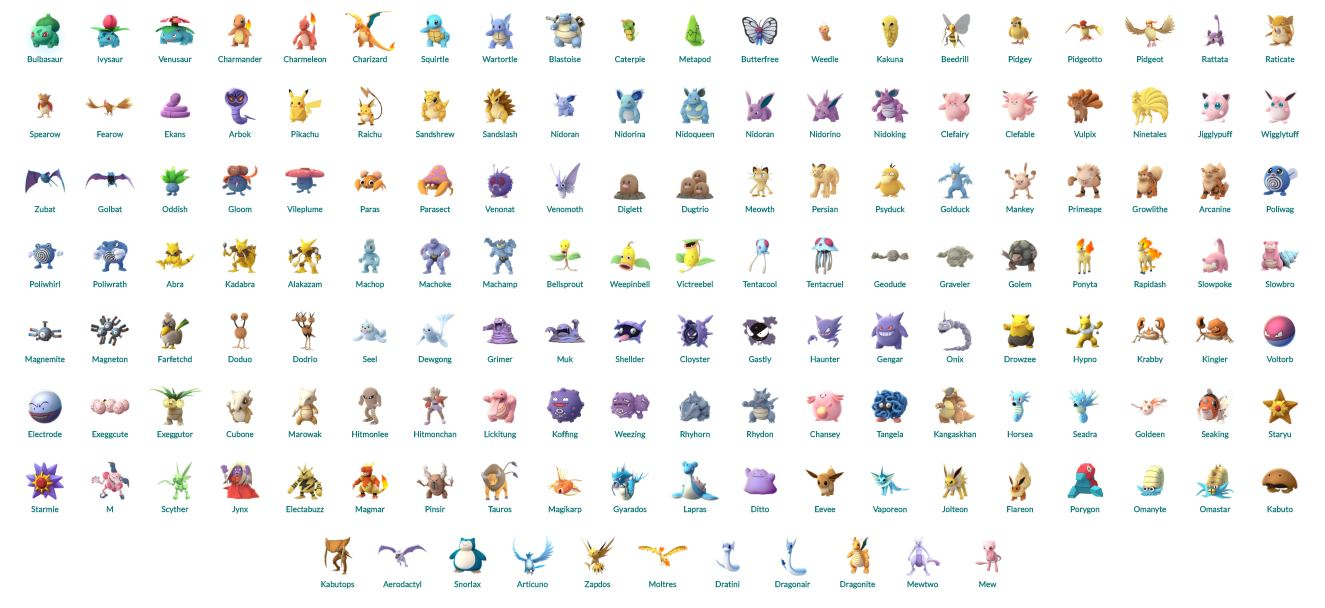 Pokemon Pokedex Black And White Images